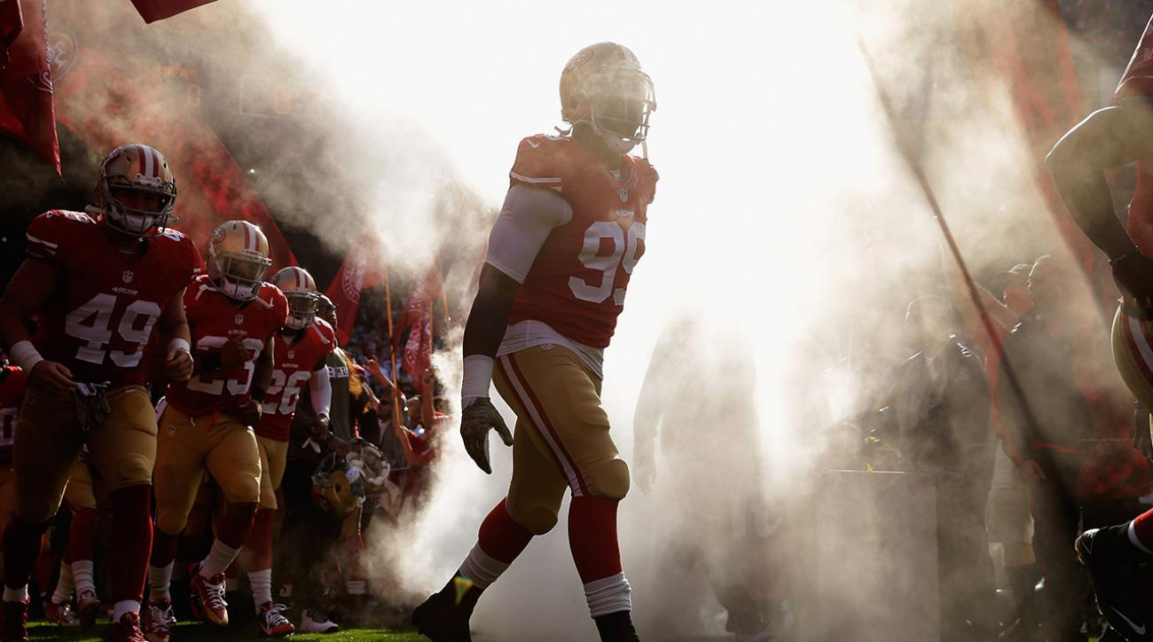 NFL reinstates 49ers' Aldon Smith