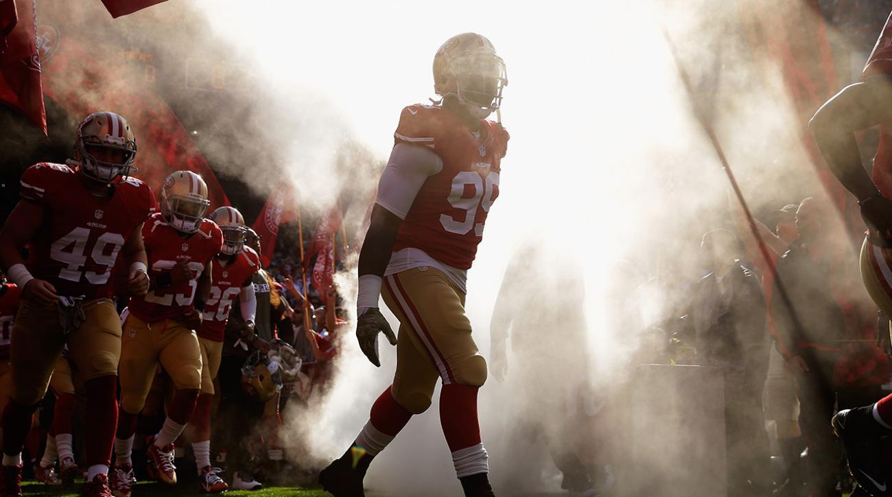 NFL reinstates 49ers' Aldon Smith