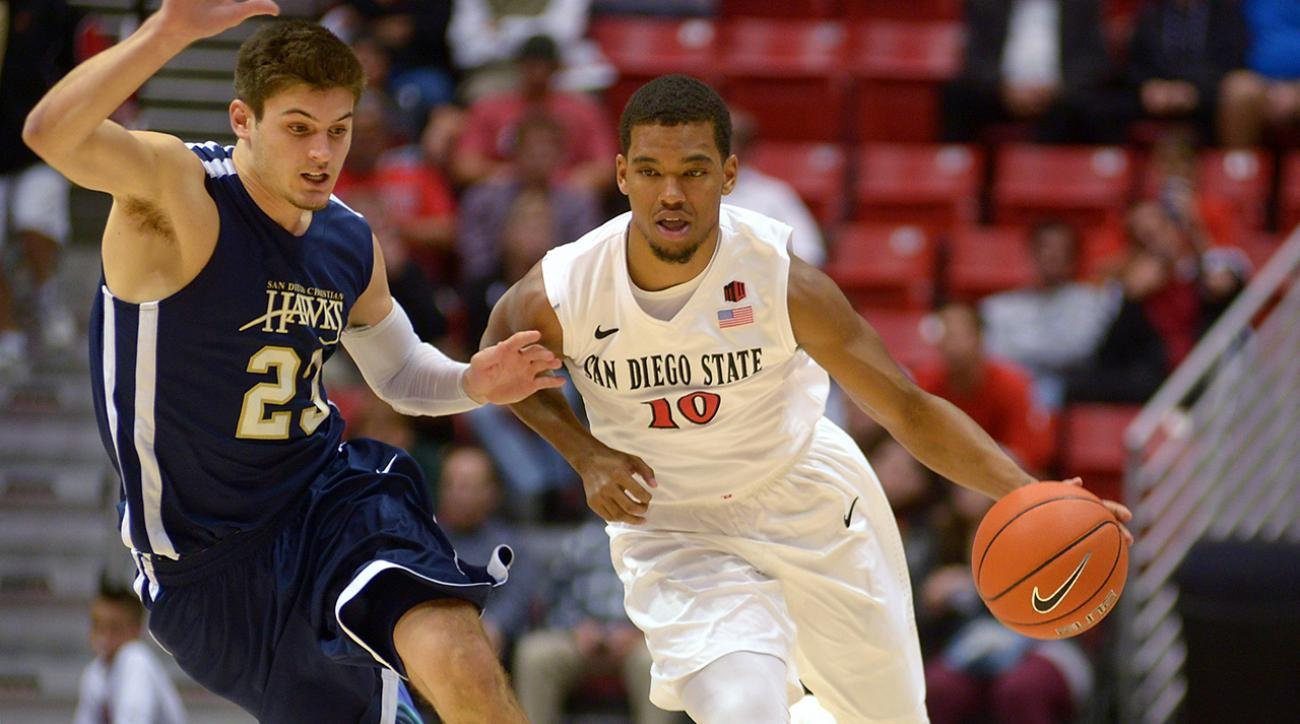 College Basketball Top 25: #14 San Diego State Aztecs image