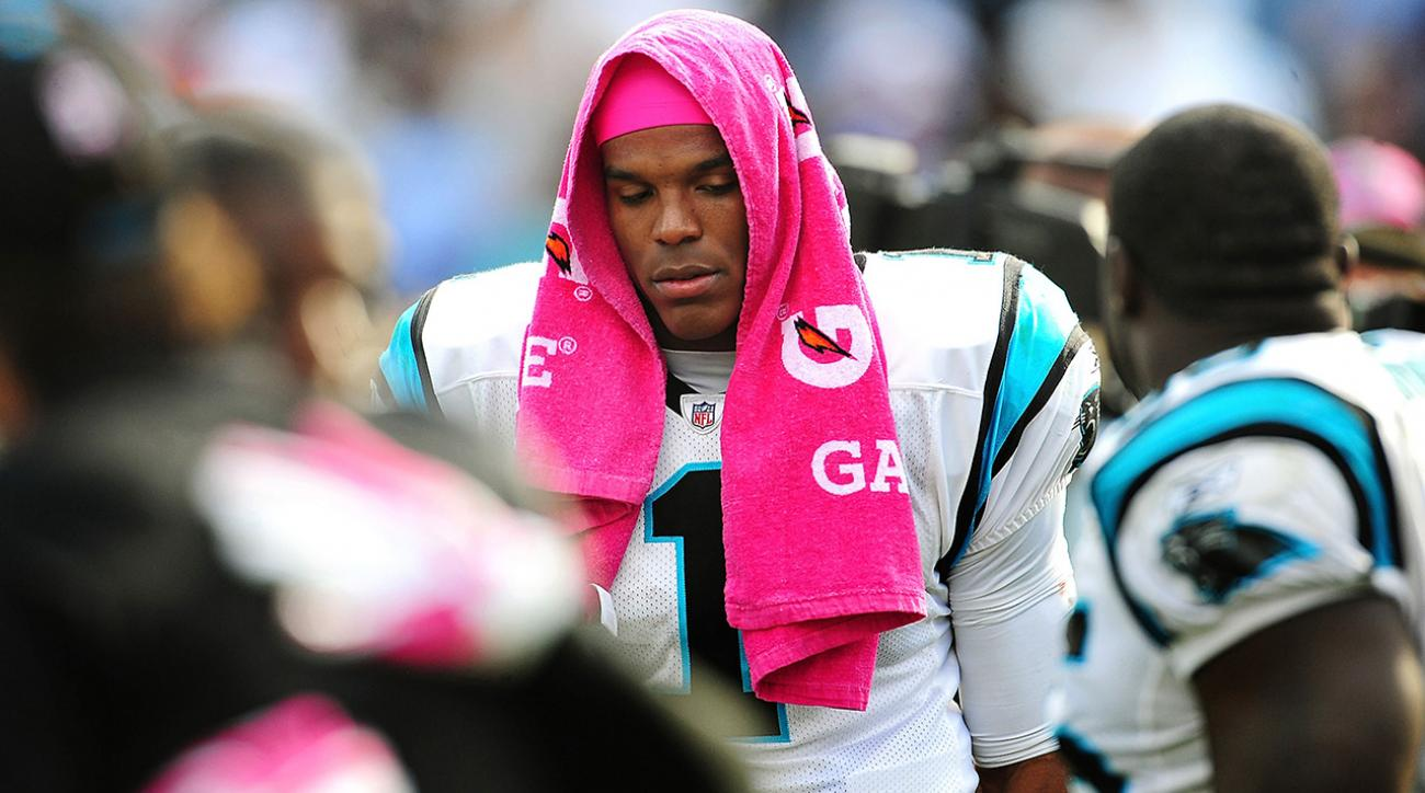 cam newton injured
