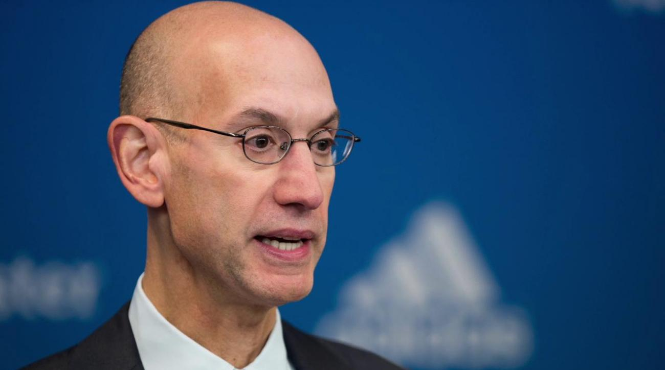 adam silver responds to michele roberts