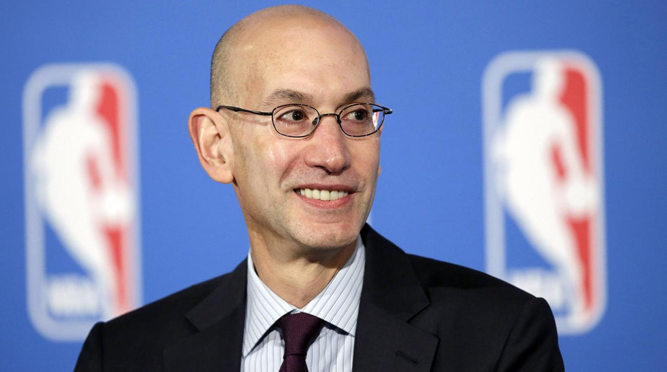 NBA Commissioner Adam Silver endorses sports gambling legalization