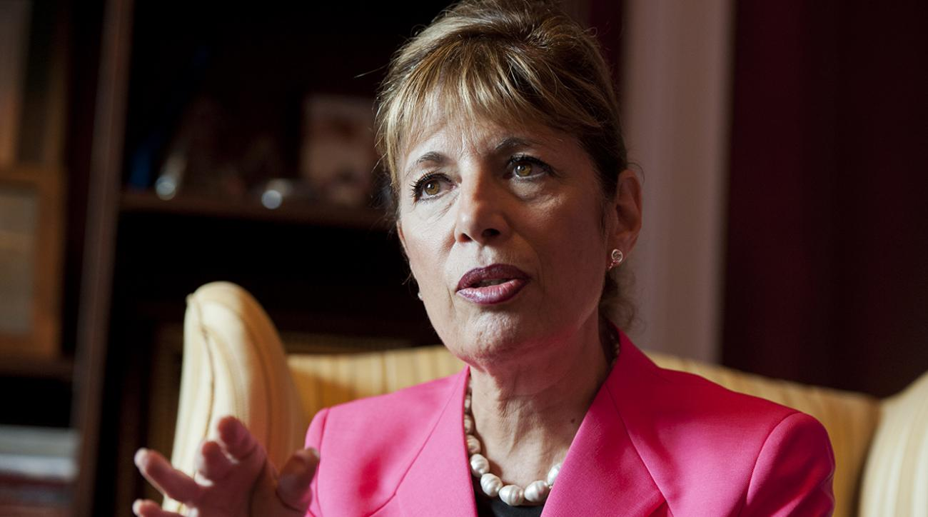 Congresswoman Jackie Speier calls for the suspension of  NASCAR driver Kurt Busch after domestic violence allegations.