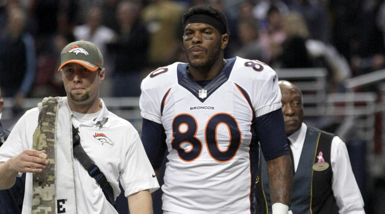 julius thomas broncos ankle injury