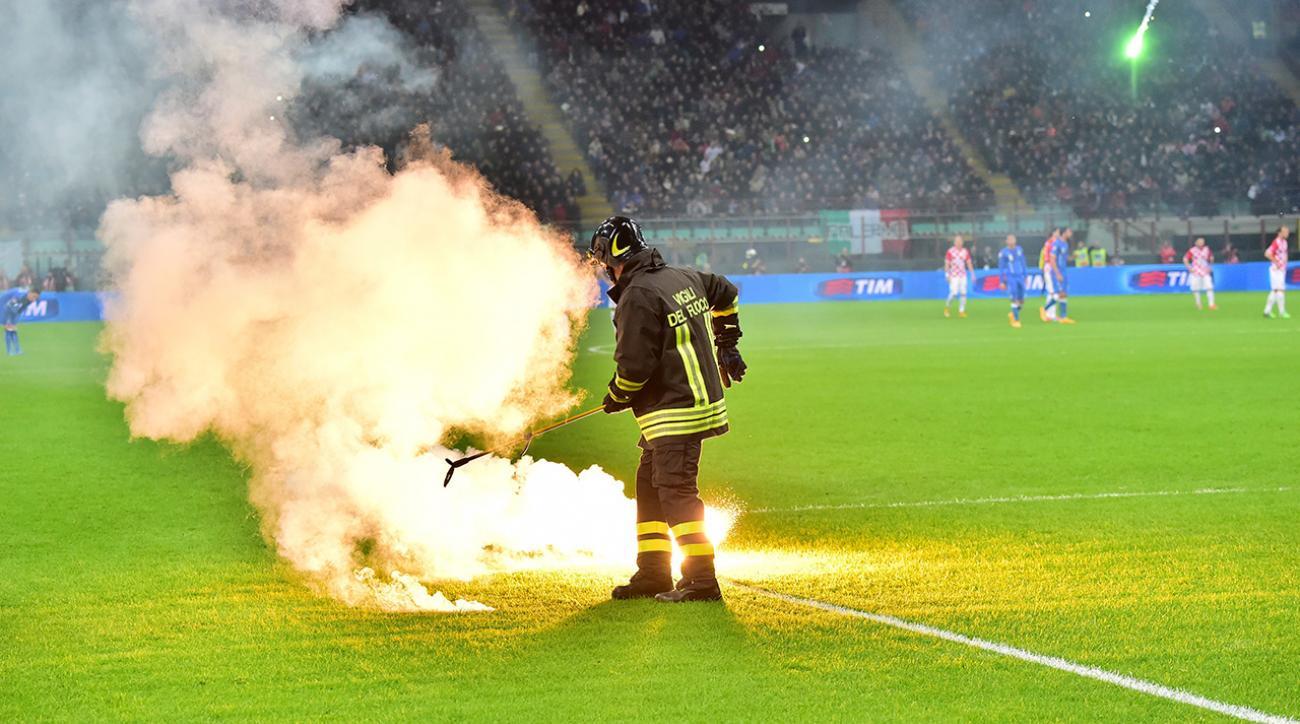 flares italy croatia euro qualifier