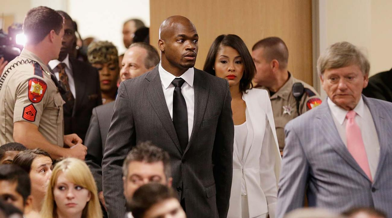 Adrian Peterson suspended without pay for remainder of season