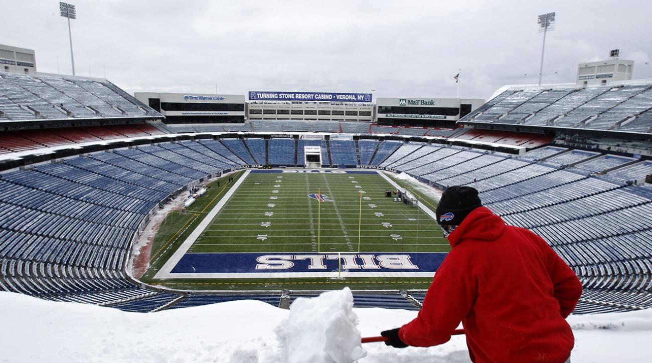 buffalo bills snowstorm