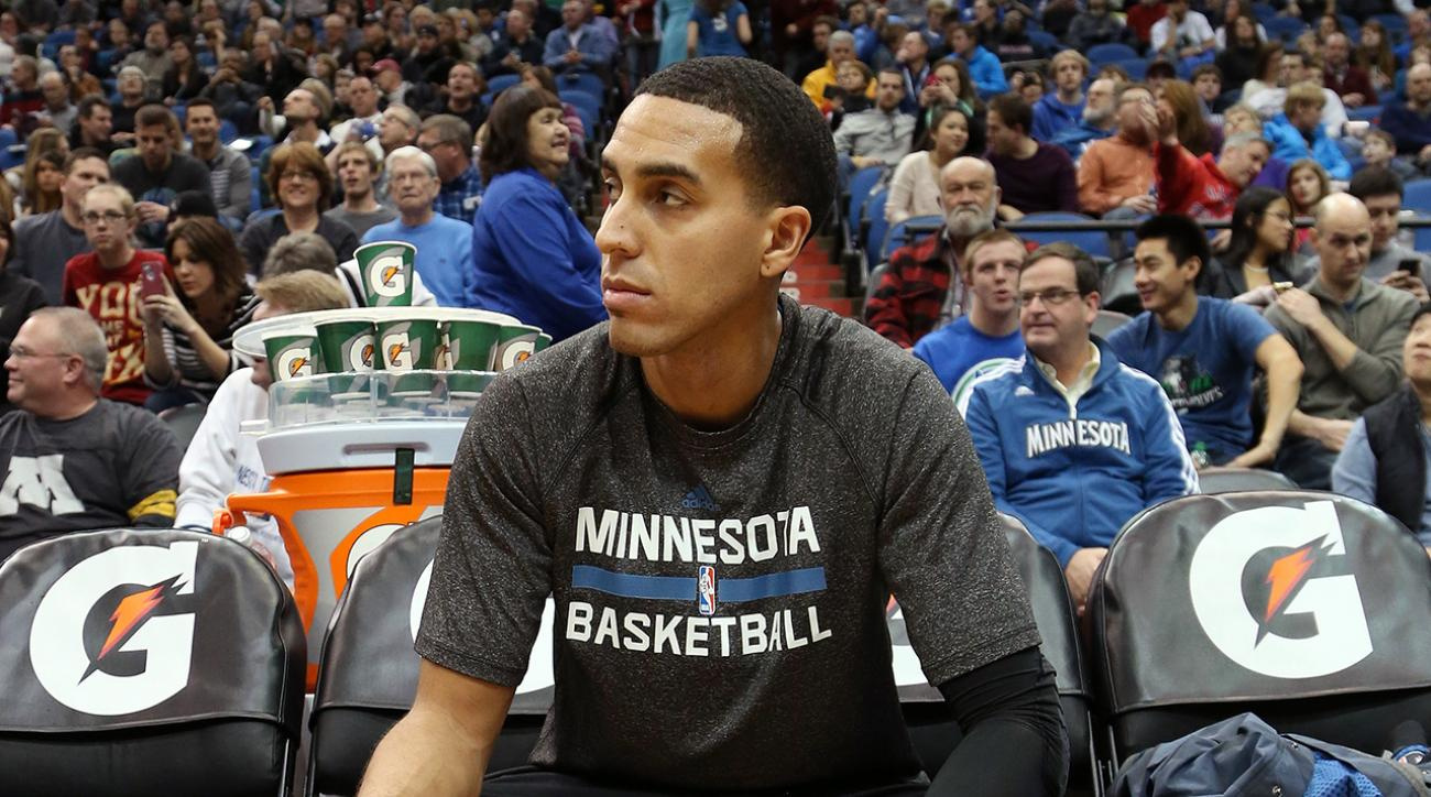 Wolves' Kevin Martin expected to miss 6-8 weeks