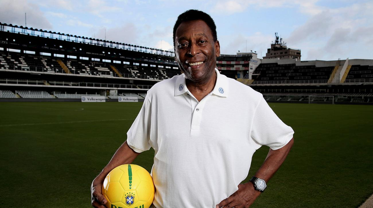Brazil soccer legend Pele hospitalized with urinary infection, but improving.