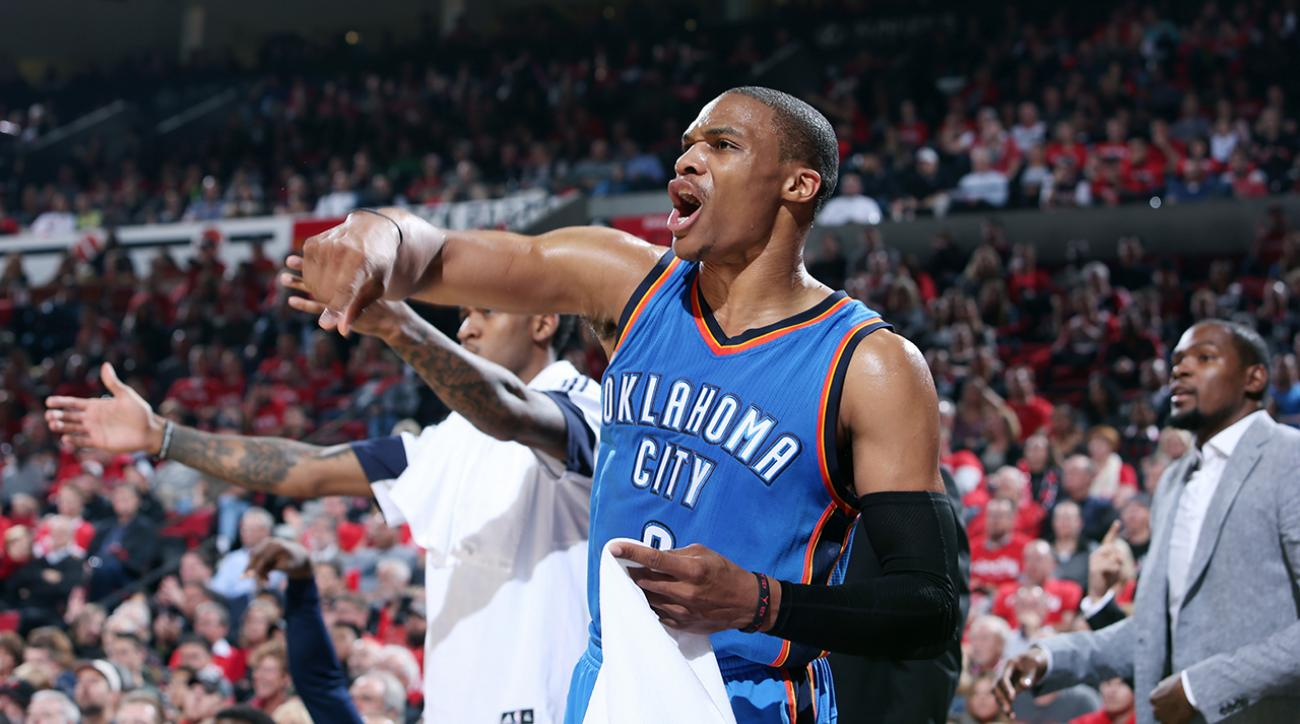 Oklahoma City Thunder PG Russell Westbrook set to return from broken hand vs New York Knicks
