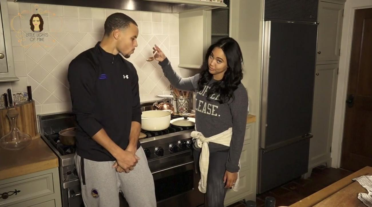 steph curry wife drake remix