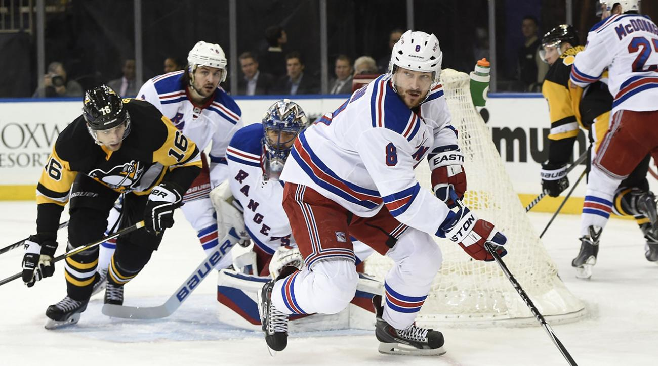 Rangers' Kevin Klein loses piece of ear, scores game-winning goal
