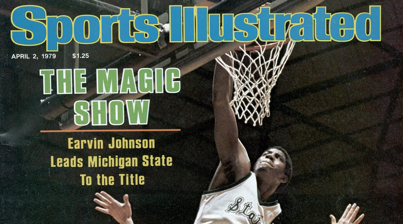 Magic Johnson SI Cover
