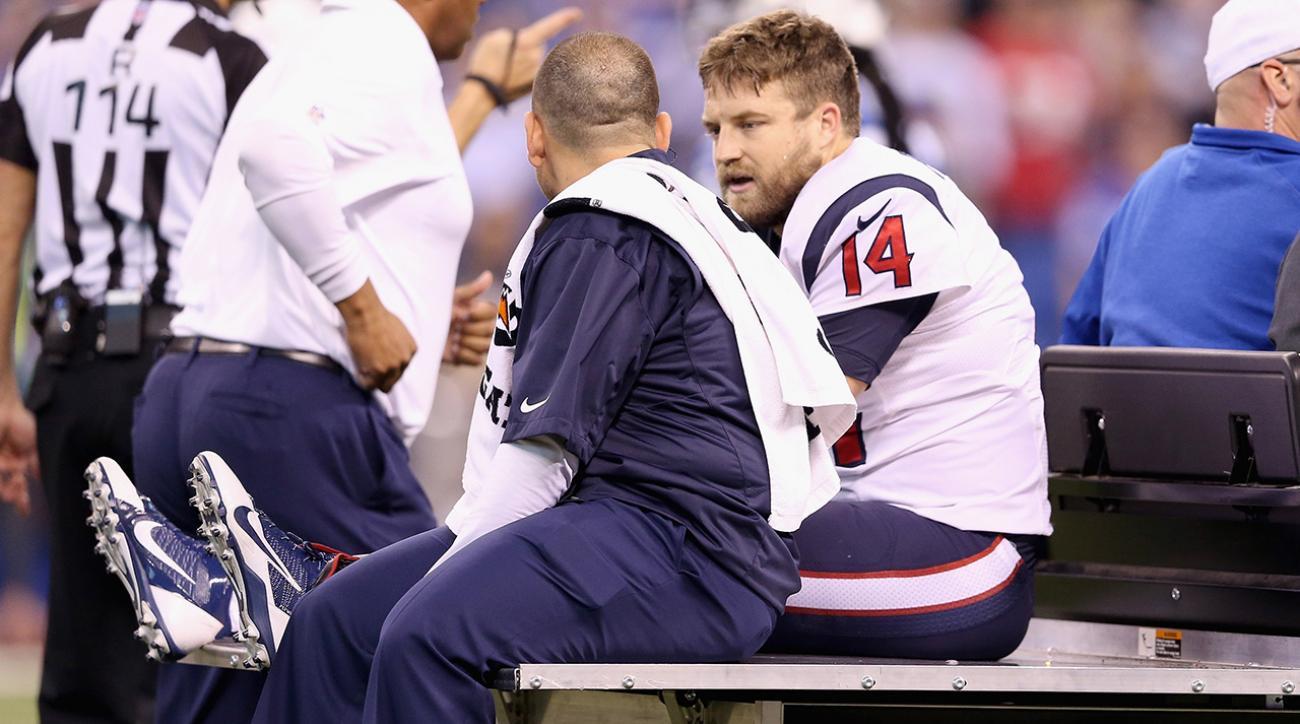 Houston Texans QB Ryan Fitzpatrick suffers season ending injury