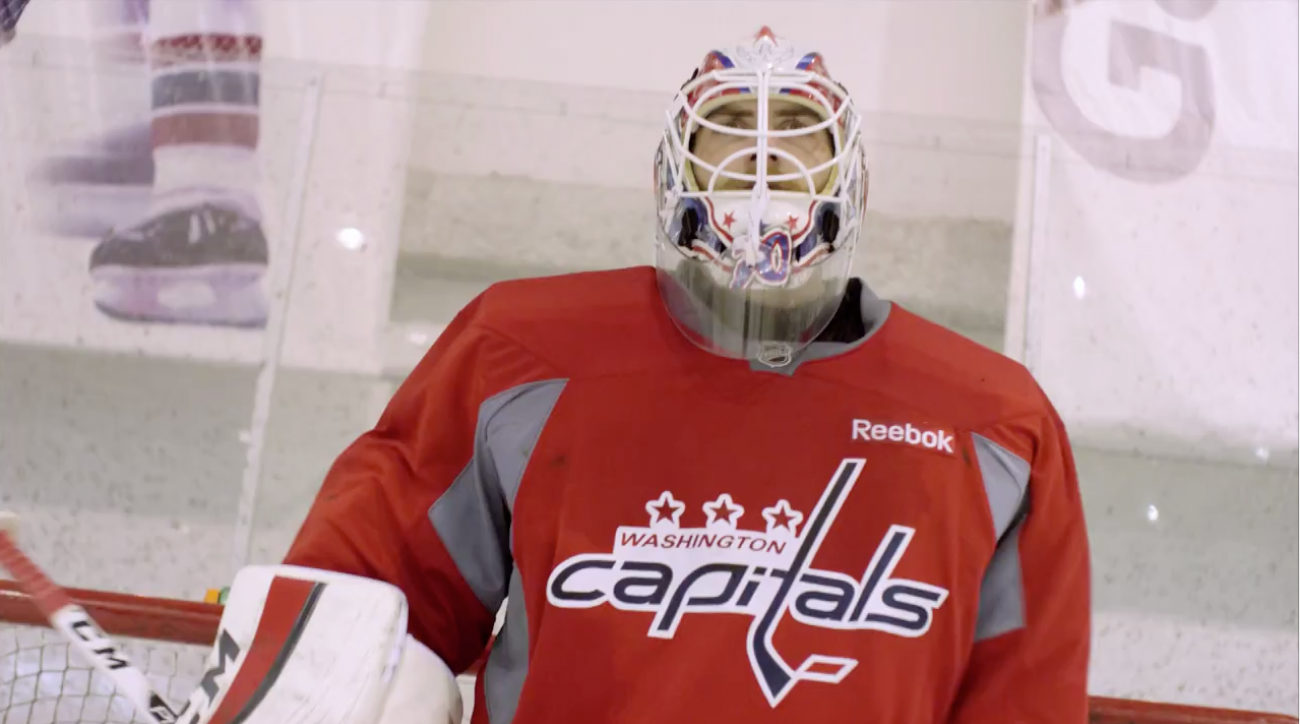 Road To The NHL Winter Classic: Making the Goalie Masks IMG