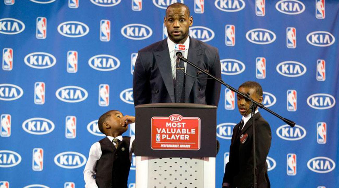 Little LeBron is a baller, just like dad