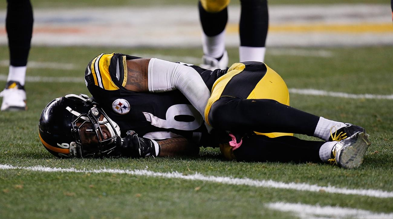Report: Le'Veon Bell hyperextends right knee Sunday night vs. Bengals