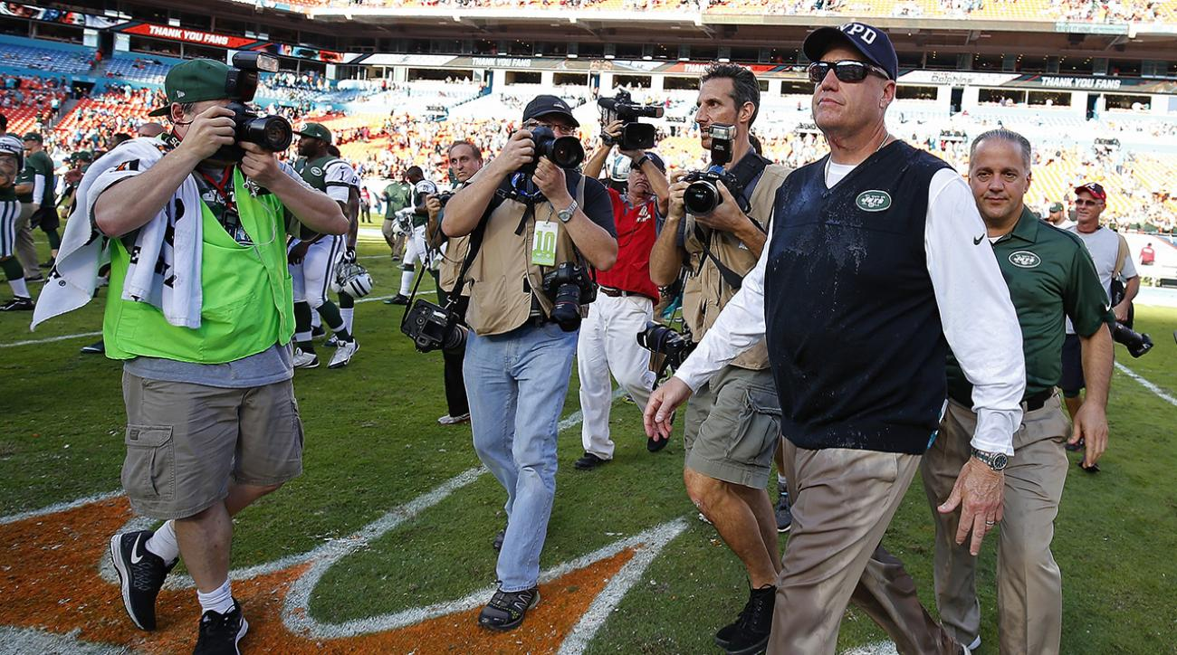Jets fire Rex Ryan, GM John Idzik after 4-12 season