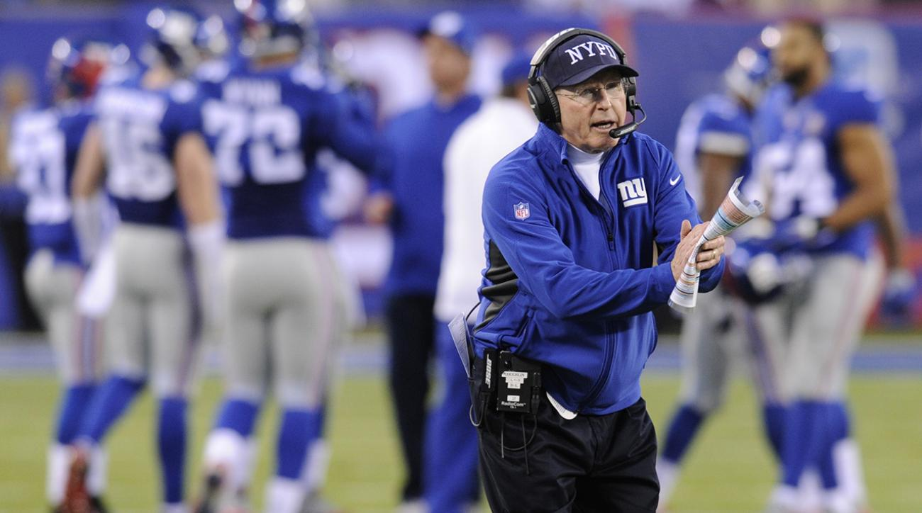Giants announce Tom Coughlin to return as coach in 2015