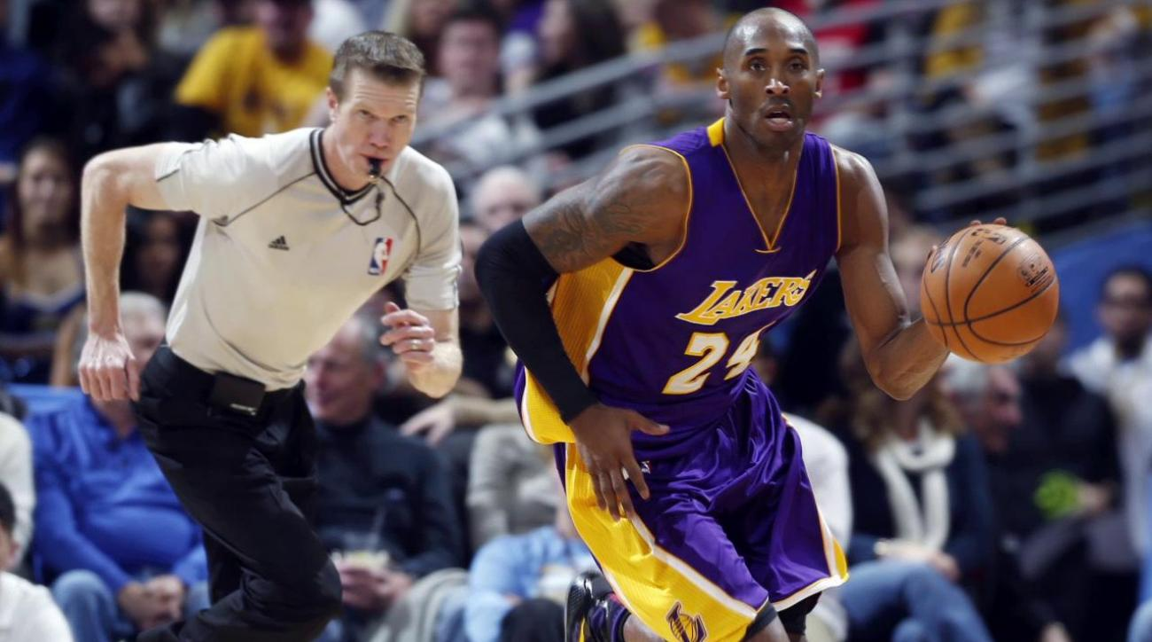 Scott on resting Kobe: 'Experiment is working'