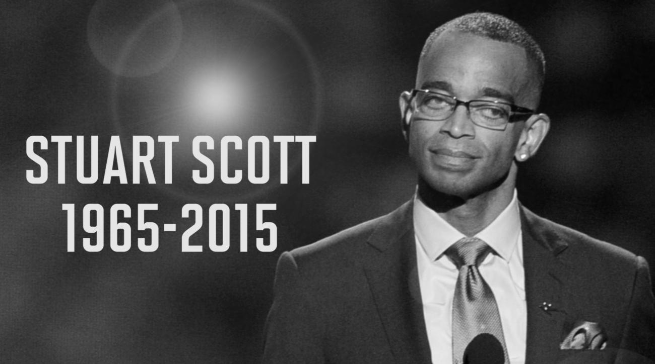 ESPN anchor Stuart Scott passes away from cancer at 49.