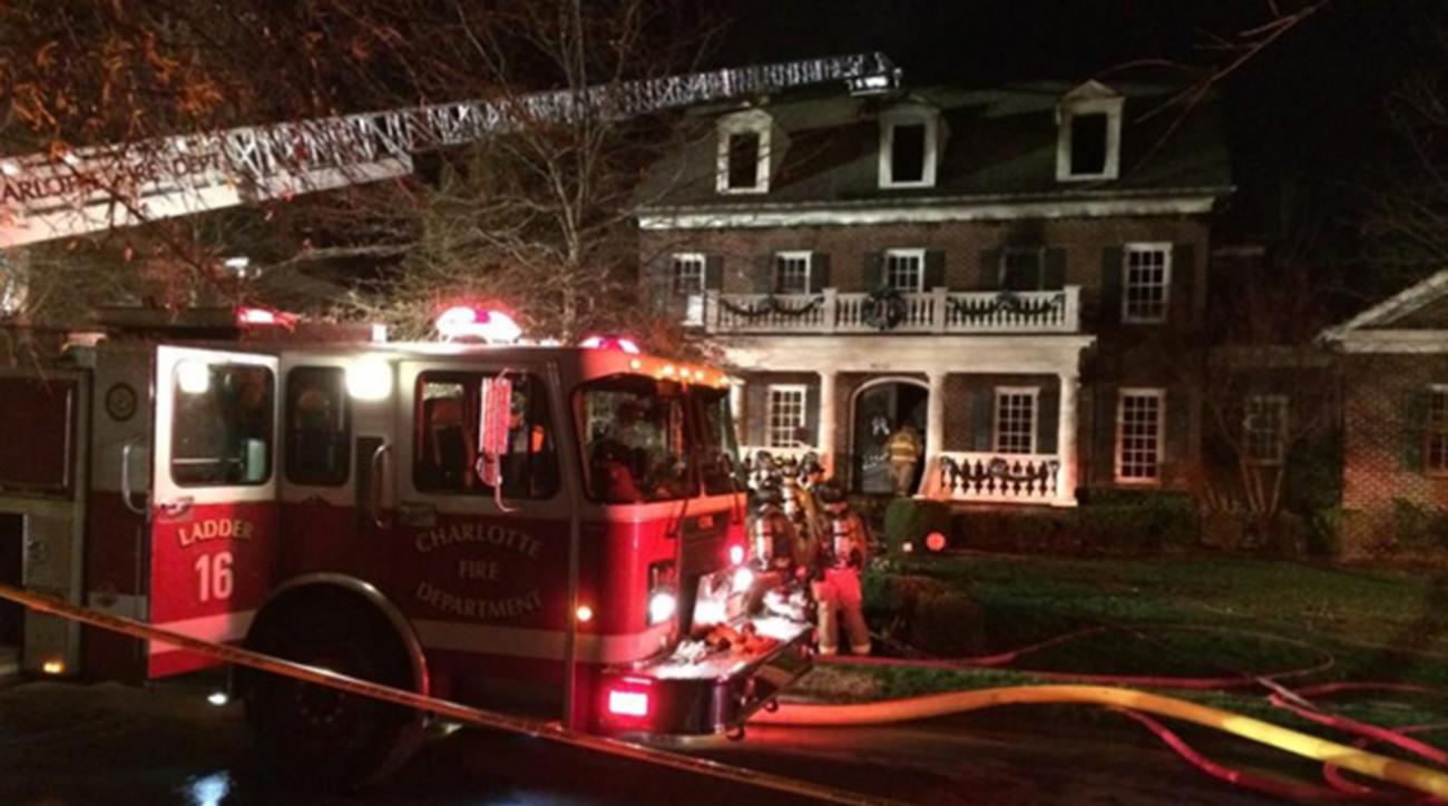 Ron Rivera's house damaged in fire early Monday morning