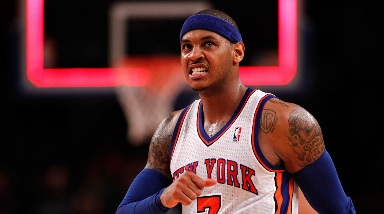 Carmelo Anthony: Surgery may be my only option