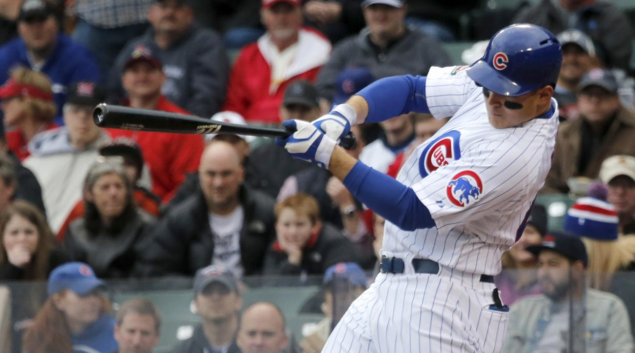 Cubs' Anthony Rizzo: 'We're going to win the NL Central'