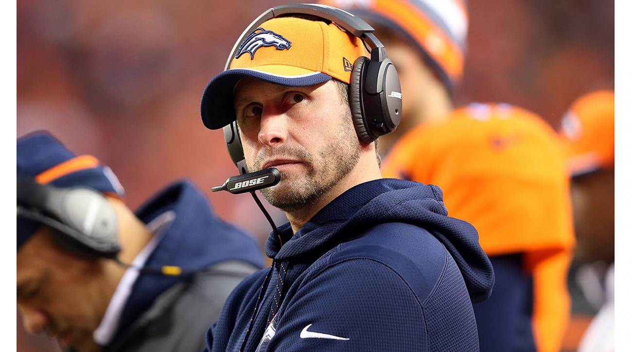 Report: Broncos OC Adam Gase to interview for Jaguars' OC job