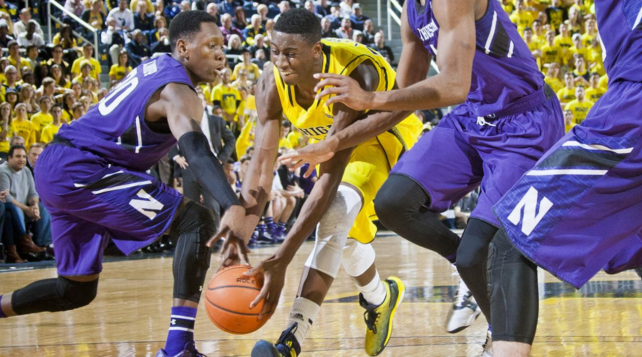 UM's Caris LeVert out for season with injured foot
