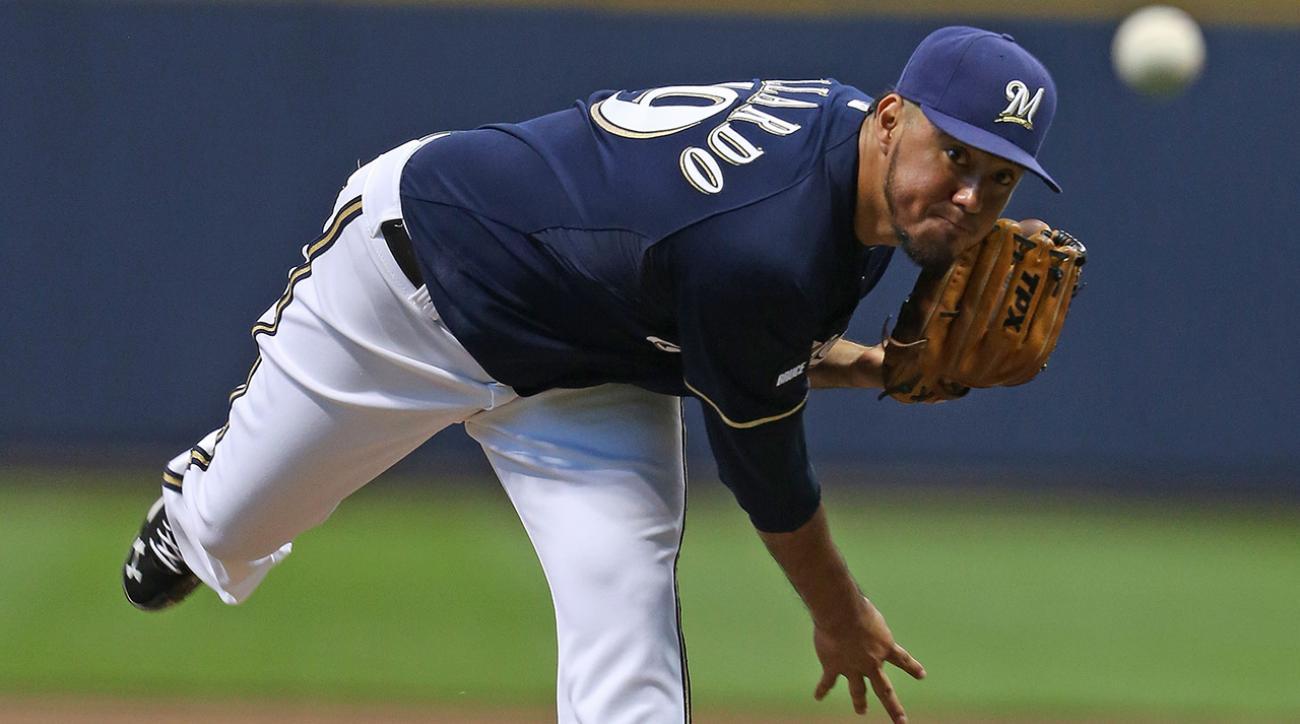 Report: Rangers nearing deal for Brewers' Yovani Gallardo