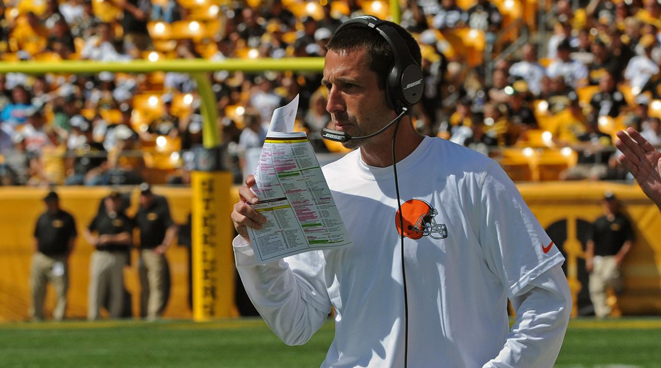 Report: Falcons hire Kyle Shanahan as offensive coordinator