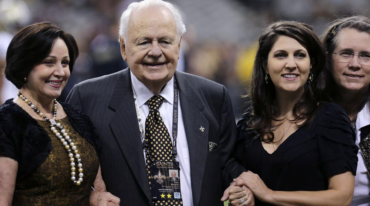 Family claims Tom Benson mentally unfit to control Saints, Pelicans IMAGE
