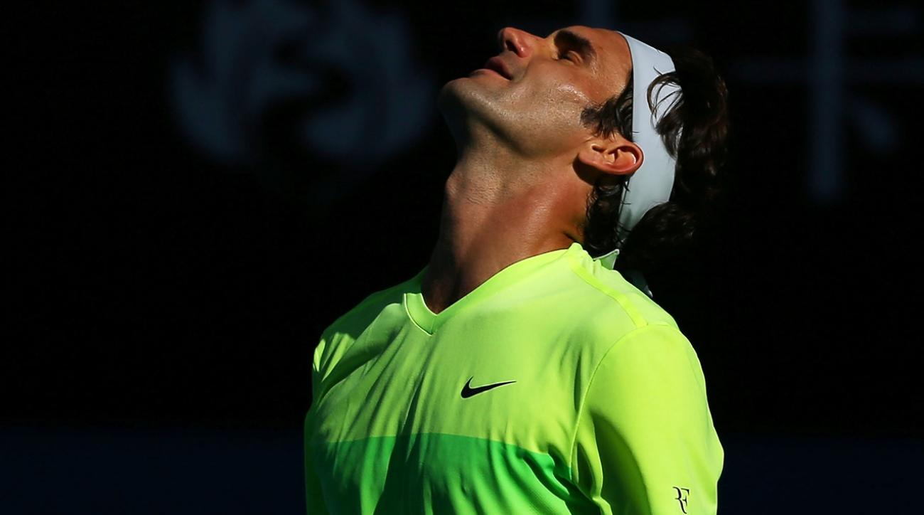 Roger Federer upset at Australian Open
