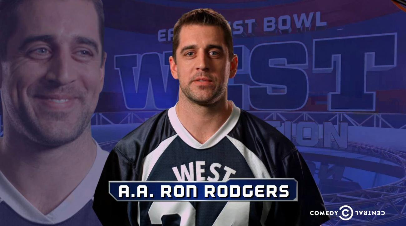 Aaron Rodgers makes cameo in latest Key and Peele East West Bowl video