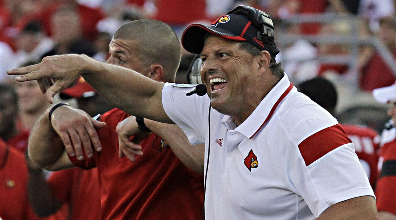 Louisville DC Todd Grantham to stay with school after interviewing with Raiders