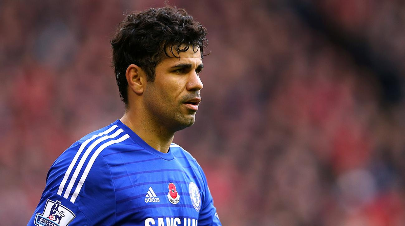 Chelsea's Diego Costa banned three games for stamping opponent's leg