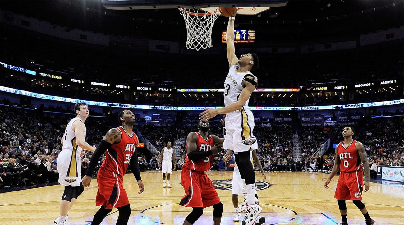 New Orleans Pelicans end Atlanta Hawks' winning streak at ...