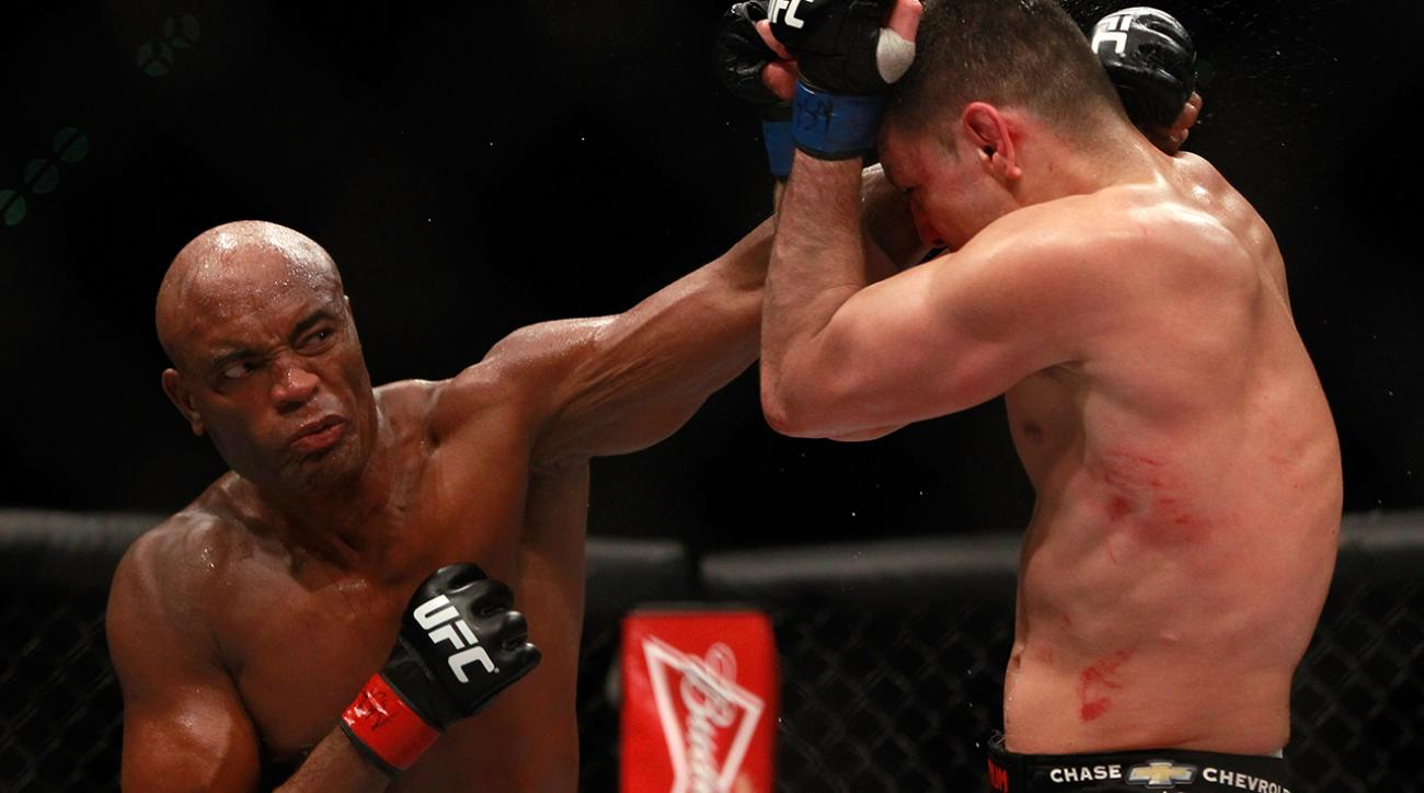 UFC fighter Anderson Silva denies steroid use