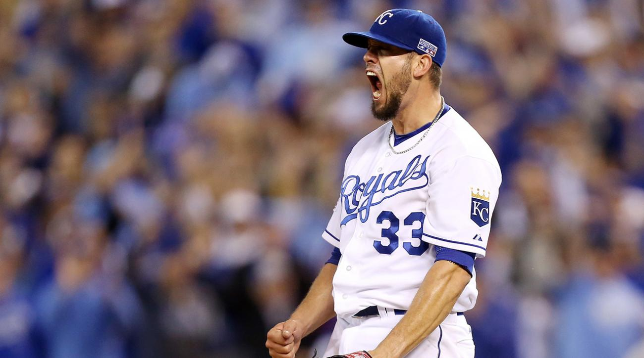Report: James Shields signs 4-year deal with Padres
