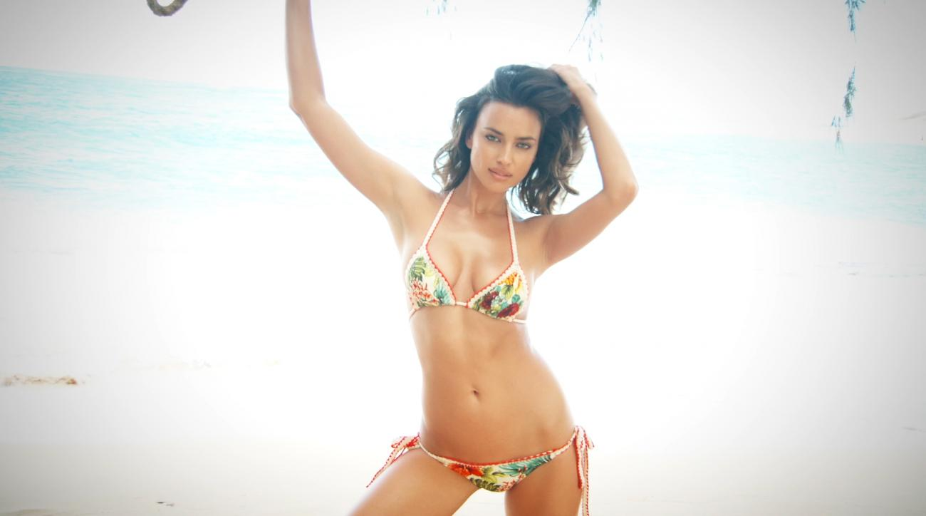 Irina Shayk Outtakes Sports Illustrated Swimsuit 2015 (image)
