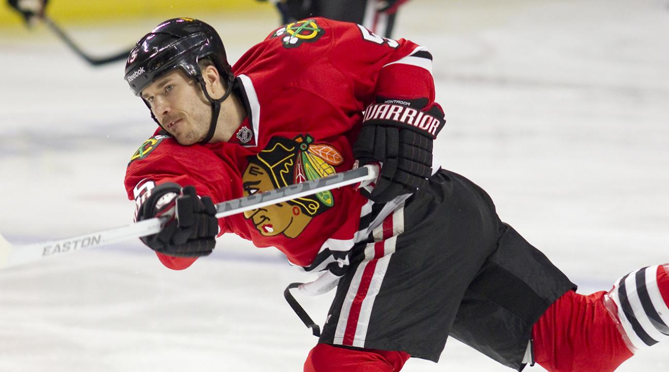 Former Blackhawks D Steve Montador found dead at age 35