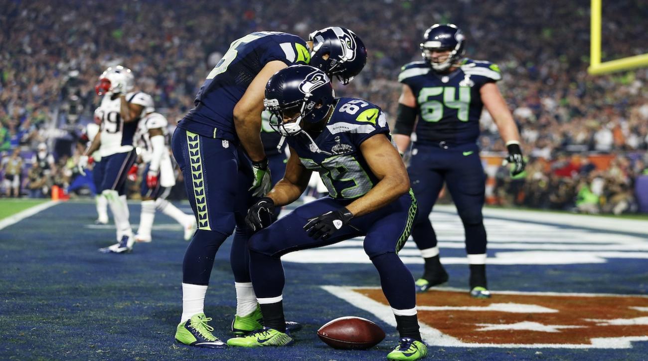 Seahawks WR Doug Baldwin apologizes for Super Bowl TD celebration
