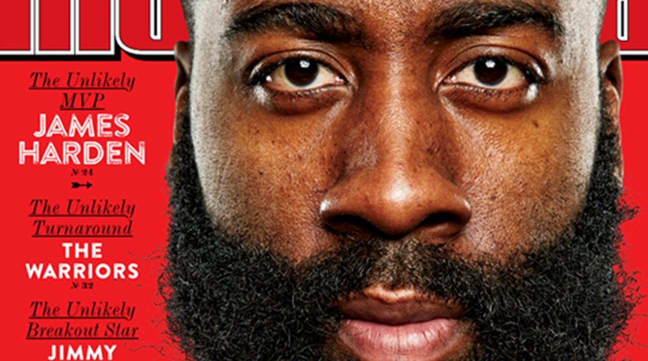 Rockets G James Harden featured on cover of Sports Illustrated