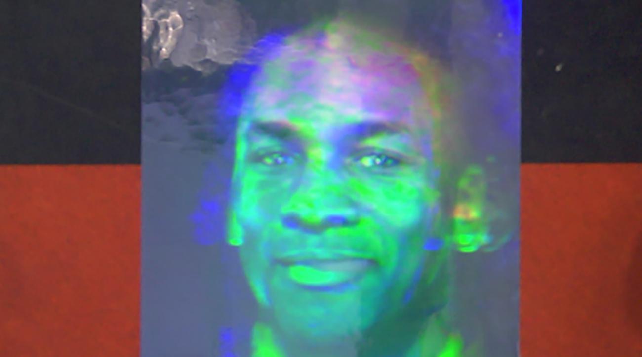 Michael Jordan hologram