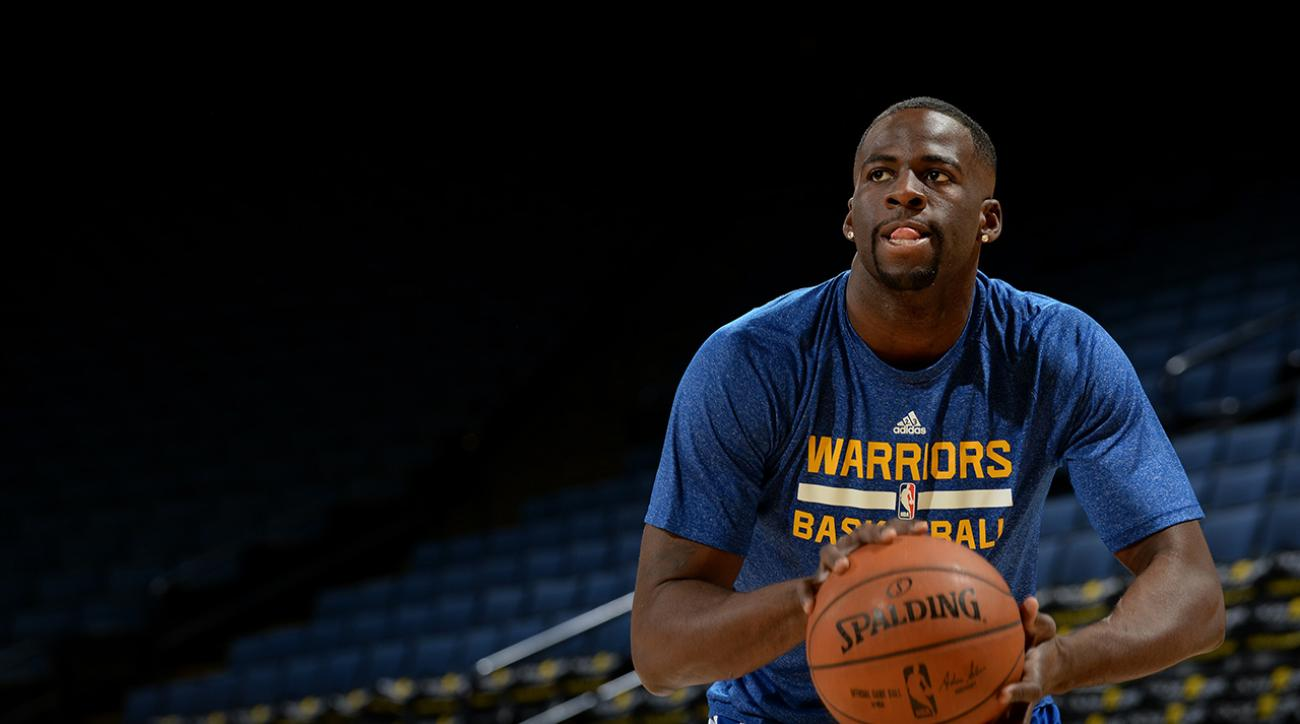 Warriors' Draymond Green unhappy after bump by Clippers' Dahntay Jones