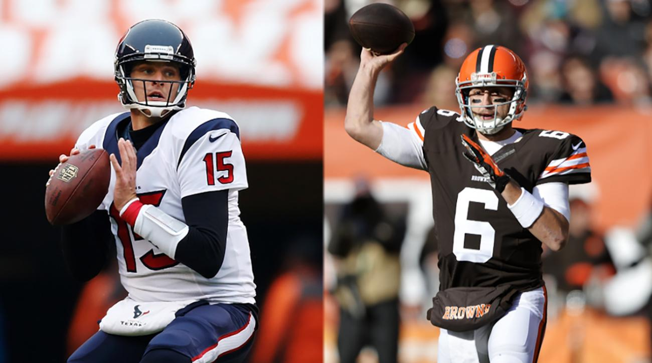 Report: Brian Hoyer, Ryan Mallet expected to sign with Texans