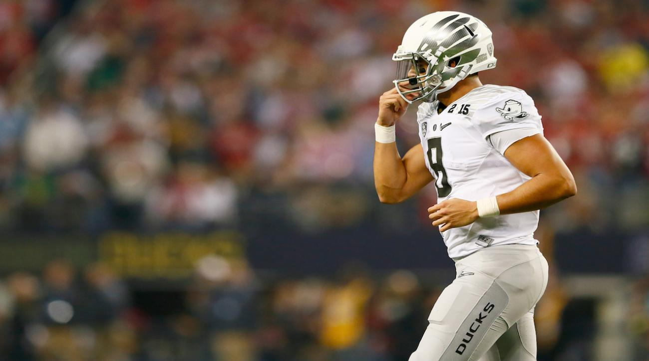 Marcus Mariota on being No. 1 pick: 'Not a huge thing'