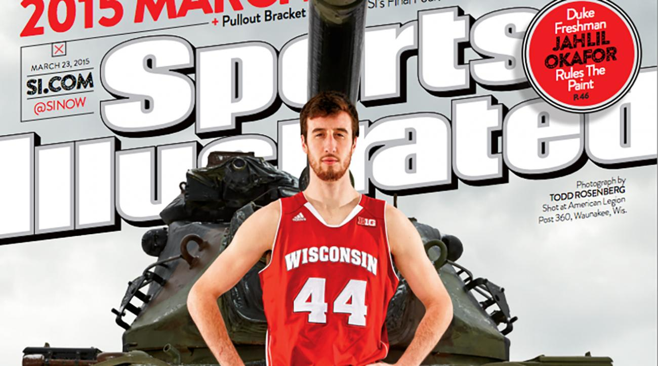 Wisconsin's Frank 'the Tank' Kaminsky graces cover of Sports Illustrated