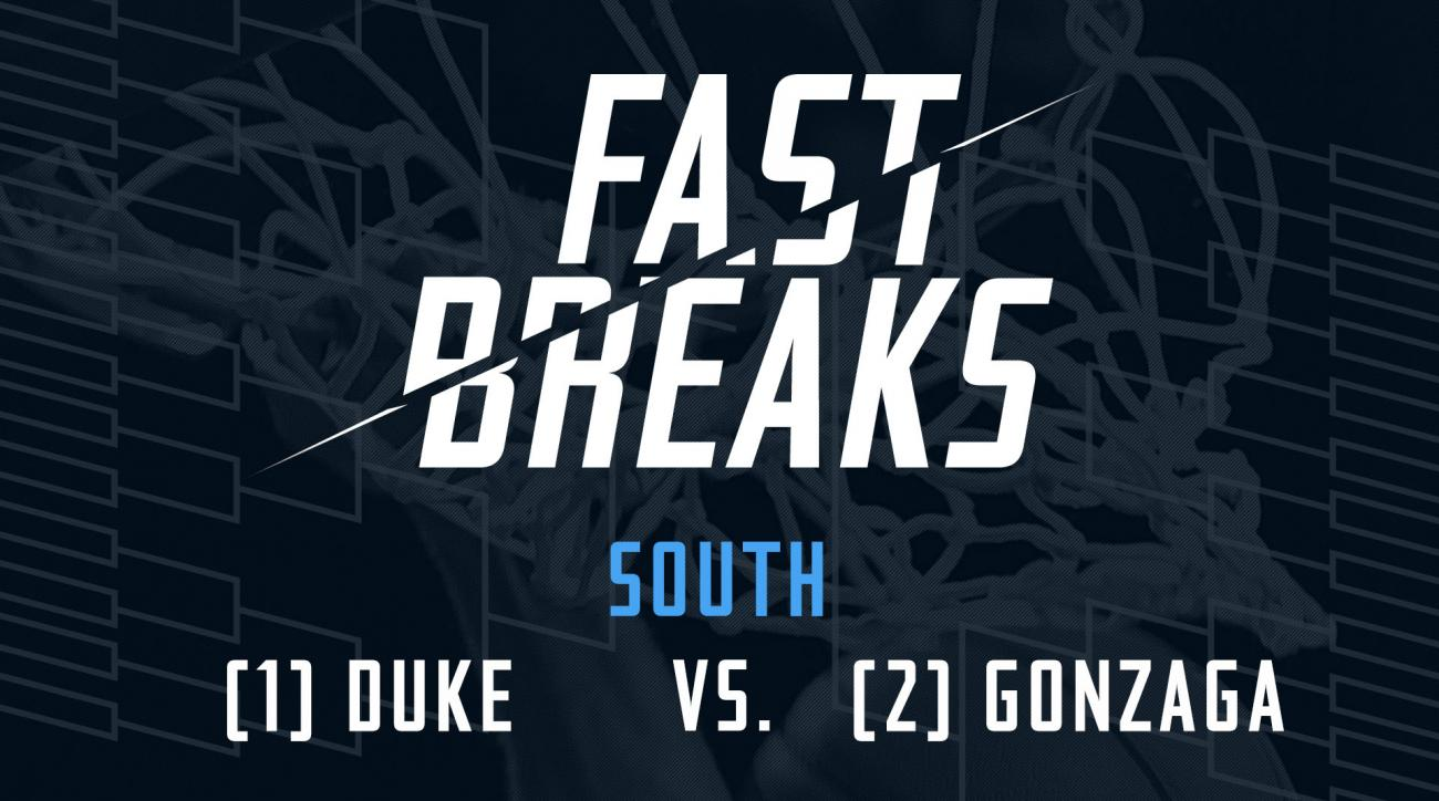 Fast Breaks: (1) Duke Blue Devils vs. (2) Gonzaga Bulldogs preview IMG